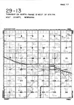 Township 29 North - Range 13 West, Emmet, Holt County 1948